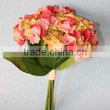 artificial hydrangea bouquet with rose