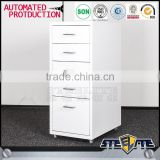 Bedroom movable cabinet steel book rack cabinet mobile file cabinet