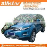 custom printed fast sun protection retractable waterproof heated peva car cover