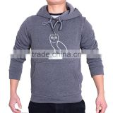 Top quality men sportswear custom printing hooded hoodie Pullover tracksuit hoody gym sportsman wear slim hood sweatshirt