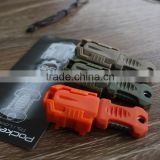 EDCgears Multi Tool Used for Molle System Mini Multifunction Outdoor Camping Survival EDC Tools Knife Webbing Buckle