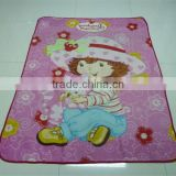 Professional Shaoxing Fleece Factory Custom Japanese Quality Aminie New born babies blankets for Gift
