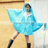 Rain Coat Poncho Jackets waterproof Female Navy blue/Black/Red thin adult long raincoat women chubasqueros Impermeables Mujer