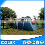 Double Layer Family Camping Tent Large Luxury Foding Tent for sale