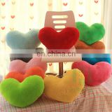 HI CE Valentine day wonderful red heart shape plush pillow for hot selling,creative gift for birthday for lover