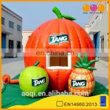 2015 cute design fruit combo shape inflatable booth tent for sale
