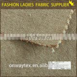 High quality King Size jute linen fabric and Plain StyleCar/Hotel/Home sheets linen silver lurex linen polyester blend fabric