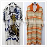 used clothes for sale in korea t-shirt collar types factory overstock