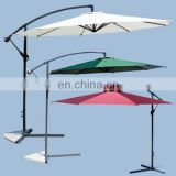 Striated Beach Umbrella With Tilt