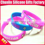 Beautiful One Direction Silicone Wristbands with Crystal