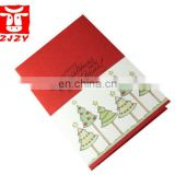 Handmade merry christmas greeting cards (ZY19-5175)