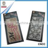 Lovely Gift Paste Cell Phone Rhinestone Stickers Mobile Phone Rhinestone Pasted Adhesive Diamond