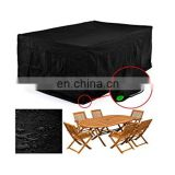 Outdoor Waterproof Oxford Cloth  Furniture Cover Rectangular Rattan Table Cover