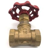 Gold & Brass Bronzed-red Color Stop And Waste Valve Dc / Right-angled Body