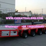 Trailer lowboy hydraulic modular unit self propelled transporter SPT Scheuerle with imported power pack unit