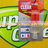Clear Epoxy Adhesive, needle tubing AB glue