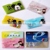Exquisite cartoon PVC card Set ,Exquisite cartoon PVC card holder ,Exquisite cartoon PVC id card
