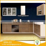 Eco Green aluminum film waterproof sink cabinet board construction plywood for kitchen cabinet