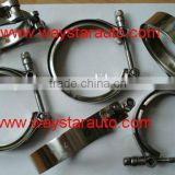 304 stainless steel T-bolt hose clamp t shape clamps manufacturer