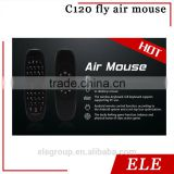 C120 mini 2.4 Ghz wireless air mouse with keyboard for android box media player computer