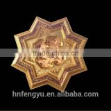 European style new star shape Ceiling tiles for lamp decoration plastic artistic ps ceiling tile