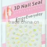 lovely design of water nail sticker