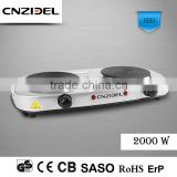 Cnzidel Portable Electric Hot Plate Hot Plate 2 burner electric stove Cooking Hot Plate                                                                         Quality Choice