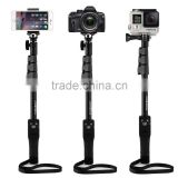Yunteng YT-1288 Extendable Camera Shooting Handheld Monopod Tripod Mount Holder for Iphone 6plus 6 5s 5c 5 4s 4 Ipod