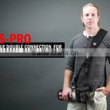 US Carry Speed Camera Accessories FS-Pro Camera Sling Strap with safety strap For Long Telephoto Heavy Lens