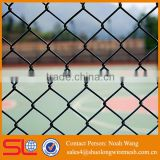 High quality galvanized and green pvc coated basketball fence netting