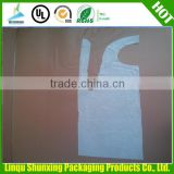 hotsale pe aprons from china / disposable plastic aprons with sleeves / disposable aprons