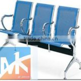 modern hair salon beautiful high quality stainless steel light blue waiting room chairs to sale for hairdresser