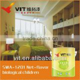 (Made in China)For babies' room odorless biological organic interior wall paint/coating