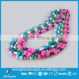 Hot sale Food Grade baby teething Silicone Lady fashion necklace Wholesales                                                                         Quality Choice