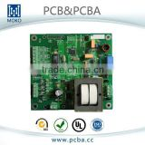 4 layer green solder mask pcb manufacturer aircraft electronic components PCBA