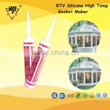 RTV Silicone High Temp Gasket Maker with Red,Black,Grey Color