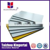 Alucoworld aluminum composite material excellent quality aluminium composite panel bathroom wall acp panels india