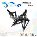 100 Grain Stainless Steel for Archery hunting crossbow and arrow Fixed 3 Blade Broadheads