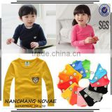 Wholesale Autumn Child Baby Boys Girls T Shirt Kids Clothes Long-Sleeve T-Shirt Embroidery Design Kids Clothing From China