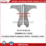 Wholesale Price Car Auto Body Parts Fenders/Wings for Hyundai Sonata Monica