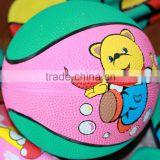mini size rubber customize your own basketball