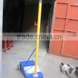 Movable Cast iron badminton post/pole