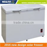362L Made in China High Quality gas refrigerator and solar power horizontal plate freezer
