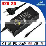 Digital baby monitor power supply 42V 2A cctv power supply AC DC adapter