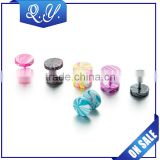 Fashion Jewelry Cute Ladies Barbell Colored Studs Jewelry Earrings Ear Stud New Wholesale