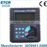electronic measuring instruments ISO CE ETCR 3000B Earth Resistance Soil Resistivity Tester