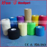 CE/FDA/ISO Wholesale Sports Hand Thick Adhesive TEARABLE EAB TAPE Elastic Horse leg bandage