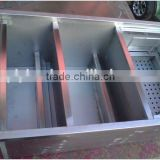 Portable grease trap for restaurant kitchen