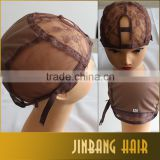 2016 Best Selling Alibaba Large Stock Full Lace Wig Caps Top Jewish Lace Cap For Charming Lady