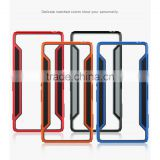 Phone Custom Case TPU Rubber Soft Transparent PC Case Back Cover For Sony Xperia Z3